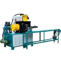 Hydraulic row nail shaping machine