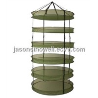 Hydroponics grow tent 6 tiers mesh hanging drying net/rack