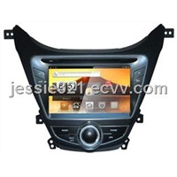 Hyundai Elantra 2012/I35 android 2.3.7 Car DVD with GPS,Bluetooth,Ipod,TV,Wifi,3G