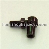 Iron End Fitting with Black Zinc Plated Gas Spring