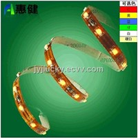 LED strip with 6 colors