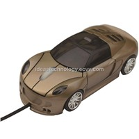 LED Light Car Shape 3D Mouse for PC and Laptop