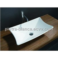 Lovely Solid Surface Artificial Stone Wash Bowls PB2028