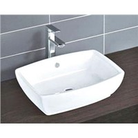 Lusta art basin ,above counter sink ,bathroom counter wash sink ,lavatory sink