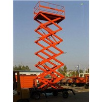 Mobile Hydraulic Scissor Lift Platform, Lift Tables, Lift Equipment 4m~18m
