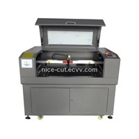 NC-6090 80w 0-10mm cloth paper acrylic pvc cutting  3D Laser Engraving Machine