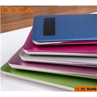 New and Ultra-Thin touch screen 4000mAh Universal Power Bank for Tablet PC and Smart Phones