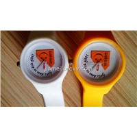New design lovely eco-friendly silicone wrist watches