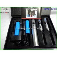 Newest e-cigarette lava tube variable voltage with LCD display