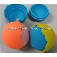 Newest round shaped Silicone ice ball