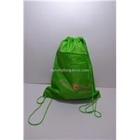 Newly Promotional Backpack/ Drawstring Bag with a front pocket
