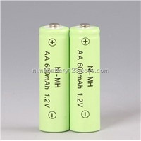 Ni-Mh Rechargeable Battery AA600mah