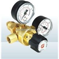 Non Heated Gauge Gas Regulator