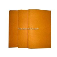 Orange super absorbent cleaning cloth nonwoven cleaning