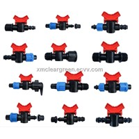 Plastic irrigation mini valve