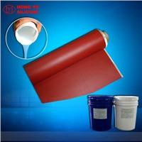 Platinum Cure Silicone Rubber for Coating Textile