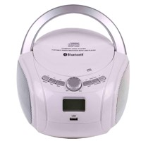 Portable CD PLAYER With CD/MP3/USB/FM/BLUETOOTH  6238