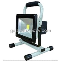 Portable & Rechargeable High Power Waterproof 20W LED Work Lamp Floodlight