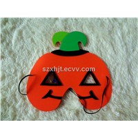 Pumpkin Shaped Eva Foam Mask for Halloween Day(FM-066)