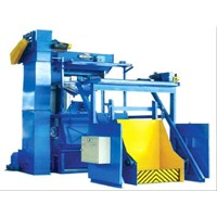 Q15GN/Q28GN tumble belt sand blasting machine