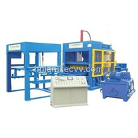 QT4-25 Semi-Automatic Hollow Block Making Machine