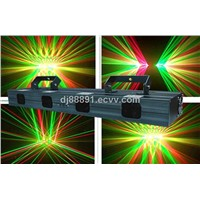 Red and Green Four Head Laser Light