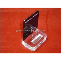 Retail counter acrylic display stands for IPOD - AD1031