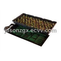 Seedling heating mat for in hydroponic/horticulture