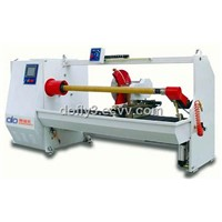 Self-adhesive tape cutting machine
