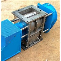 Self-cleaning rotary valve