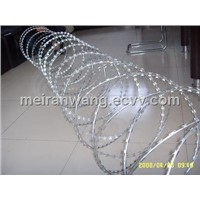 Short barb razor wire/cross razor barbed wire BTO22