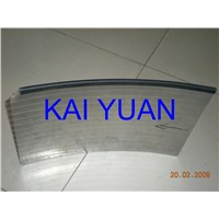 Sieve bend screen Wedge wire Slot 0.0025mm 0.75mm 1mm