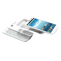 Sliding & Standing Detachable BT Keyboard Case for Galaxy S3
