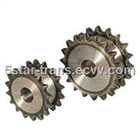 Standard Industrial Double Sprocket