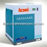 Stational air-cooling belt-driven screw air compressor LW-50