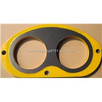 Superior All Models Of Kyokuto Concrete Pump Spare Part Spectacle Wear Insert and Wear Cutting Ring