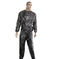 Sweatsuit, Made of Eco-friendly PVC Material, Can be Used for Slimming