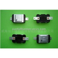 Slim Type Bimetal Thermostat Bimetal Snap Action Temperature Controlled Thermostat Switch(HB-5)