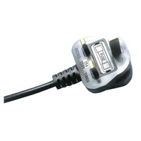 U.K. power supply cord, extension cord,  BS