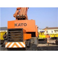 Used Kato 50ton rough terrain crane