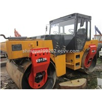 Used XCMG 12ton Vibrating Double Drum Roller