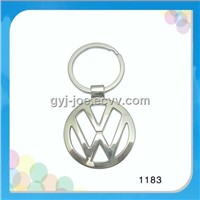 VW car logo keychain