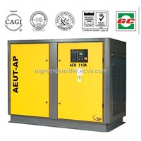 Water Cooling 110kW Direct Screw Air Compressor Energy Saving Air Compressor