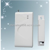 Wireless door magnetic sensor door alarm