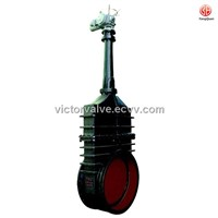 Z942W-1/2/4Electric rising stem wedge double disc gate valve