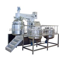 ZRJ-500L Cream Vacuum Emulsification Blender