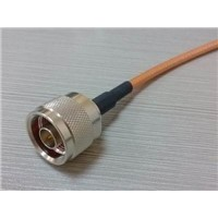 assembly coaxial cable n rf connector male to male