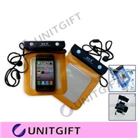 Colored PVC Waterproof Pouchs for iPhone 5