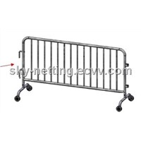 Construction Fence Galvanized Steel Barrier for Highway