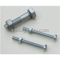 din933  hex head bolt with din934 hex nut